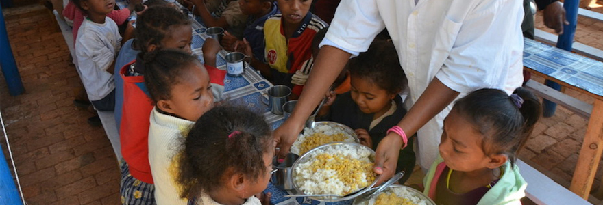 Anti-famine mené à Madagascar