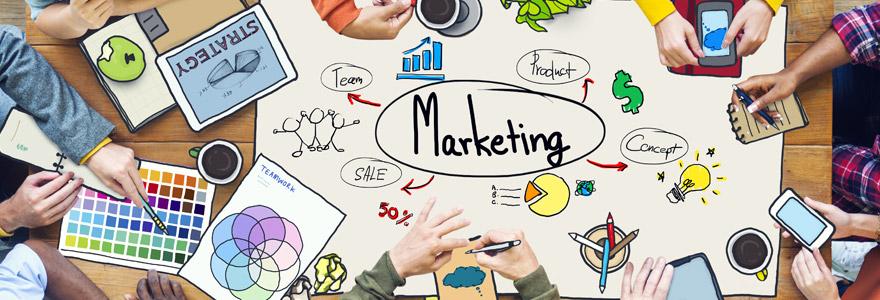 différentes disciplines du marketing