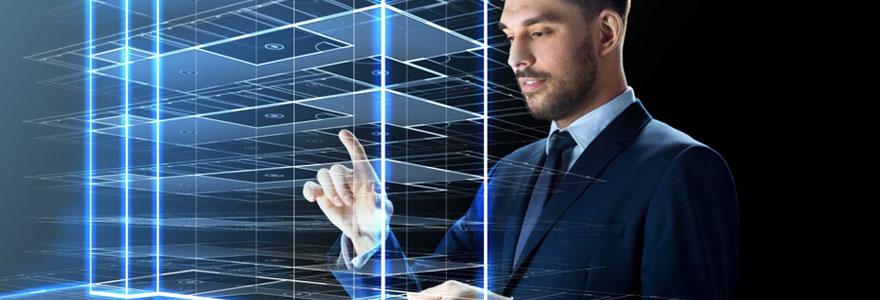 hologramme pour un événement