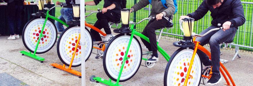 vélo à smoothie